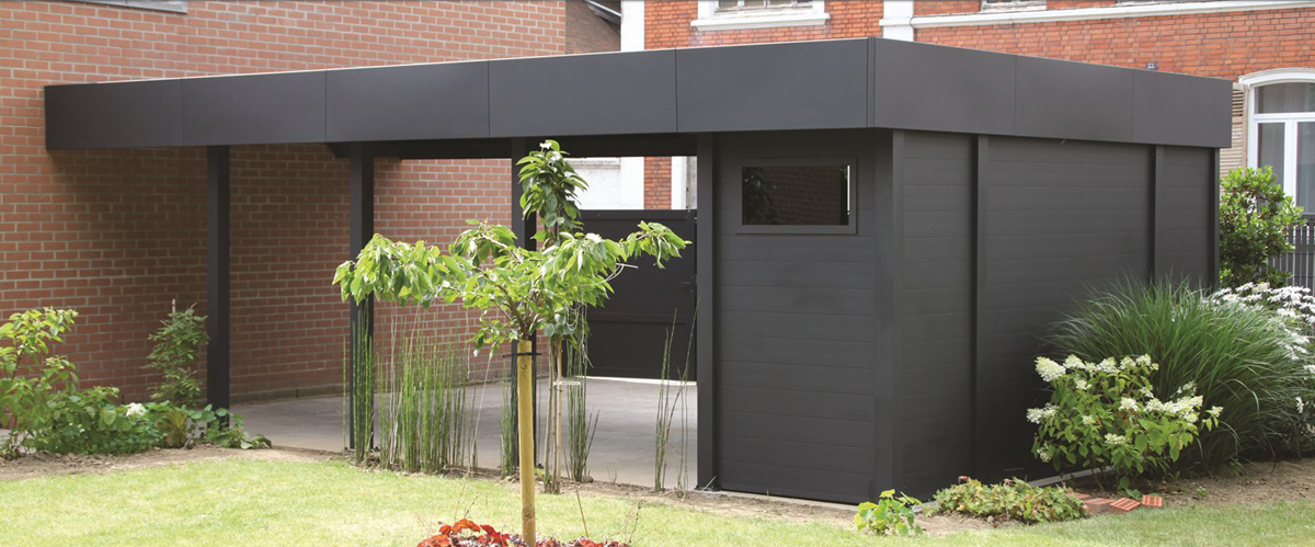 un concept de carport et d 39 abri en aluminium. Black Bedroom Furniture Sets. Home Design Ideas