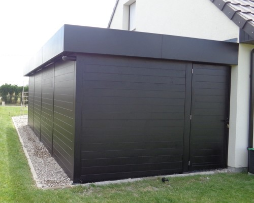 Abri de jardin aluminium carport aluminium concept for Porte local piscine