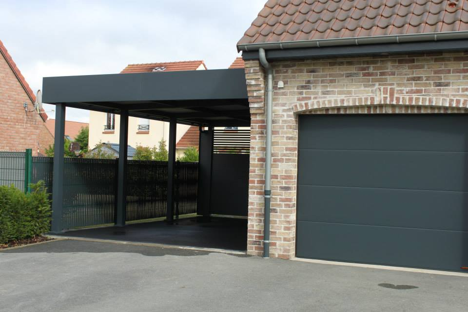 Super Le chantier Carport Aluminium de la semaine BY64