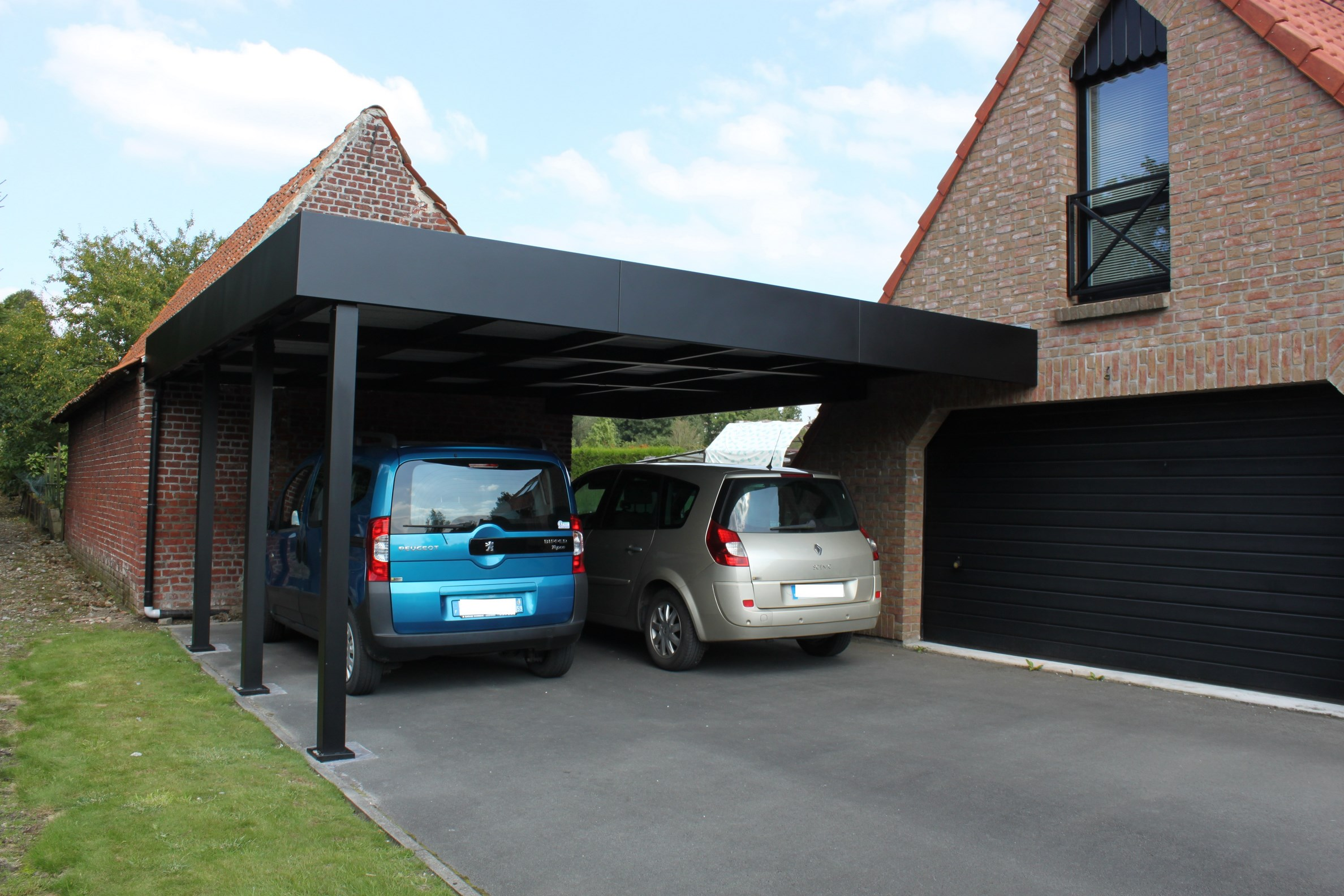 aluminium archives carport. Black Bedroom Furniture Sets. Home Design Ideas