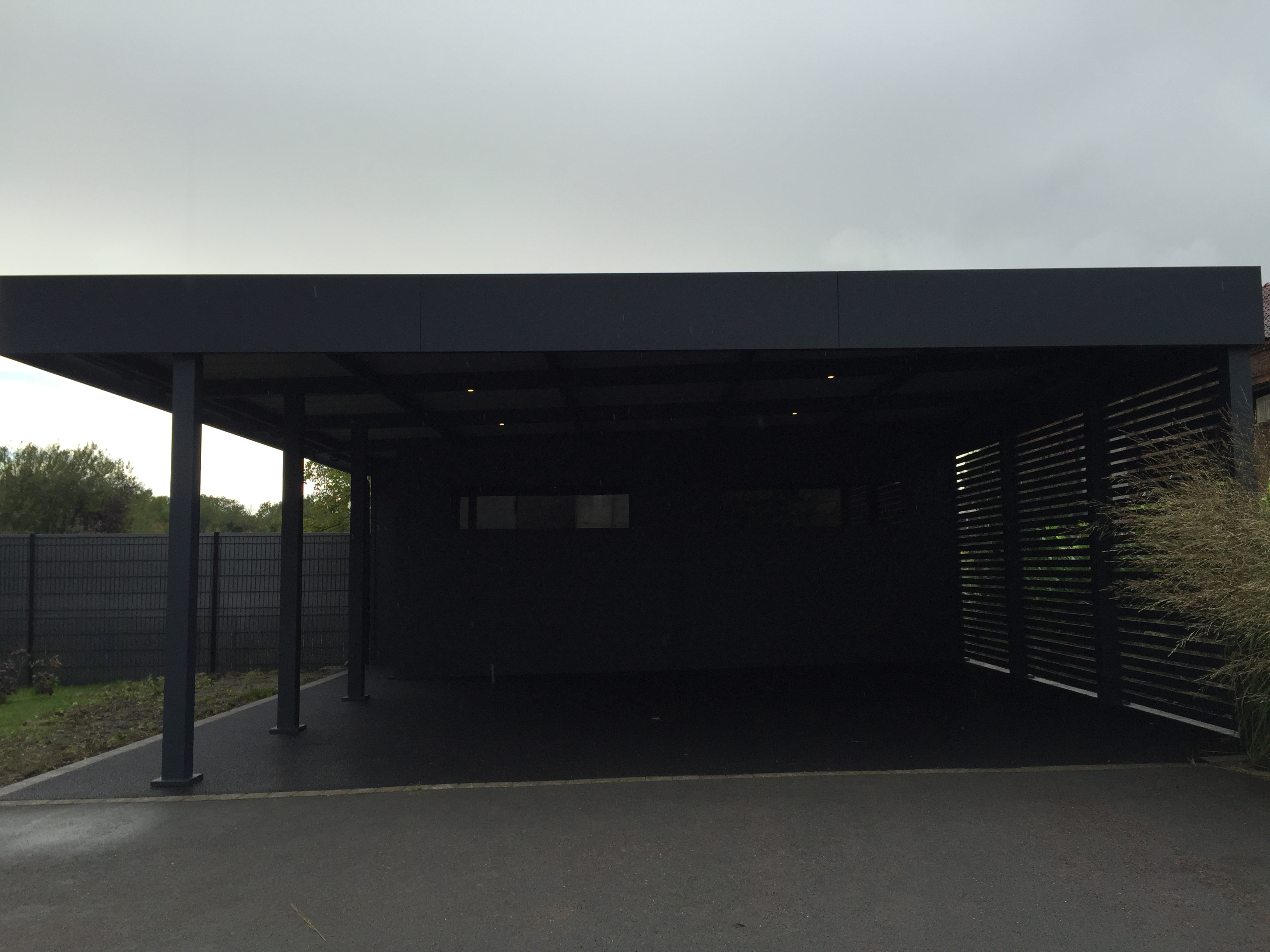 Aluminium archives carport for Garage pas cher strasbourg