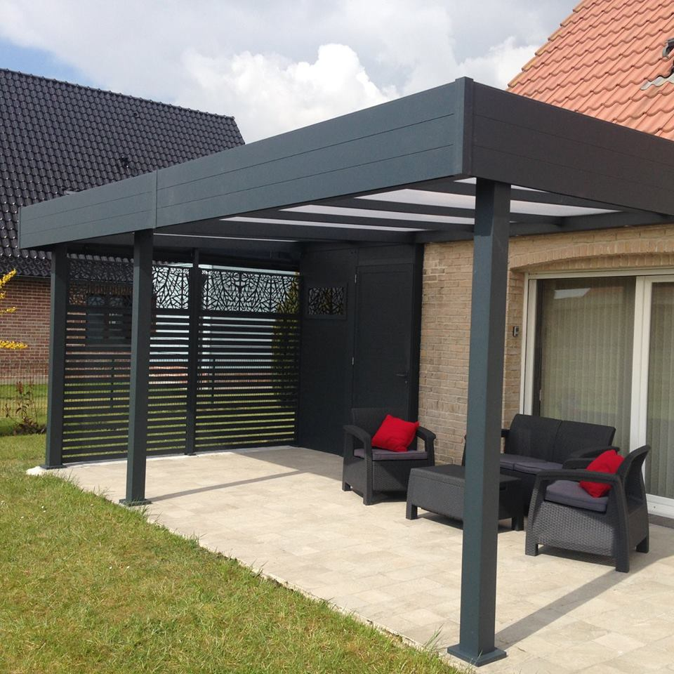 warhem le mixte pergola abri alu de la semaine carport. Black Bedroom Furniture Sets. Home Design Ideas