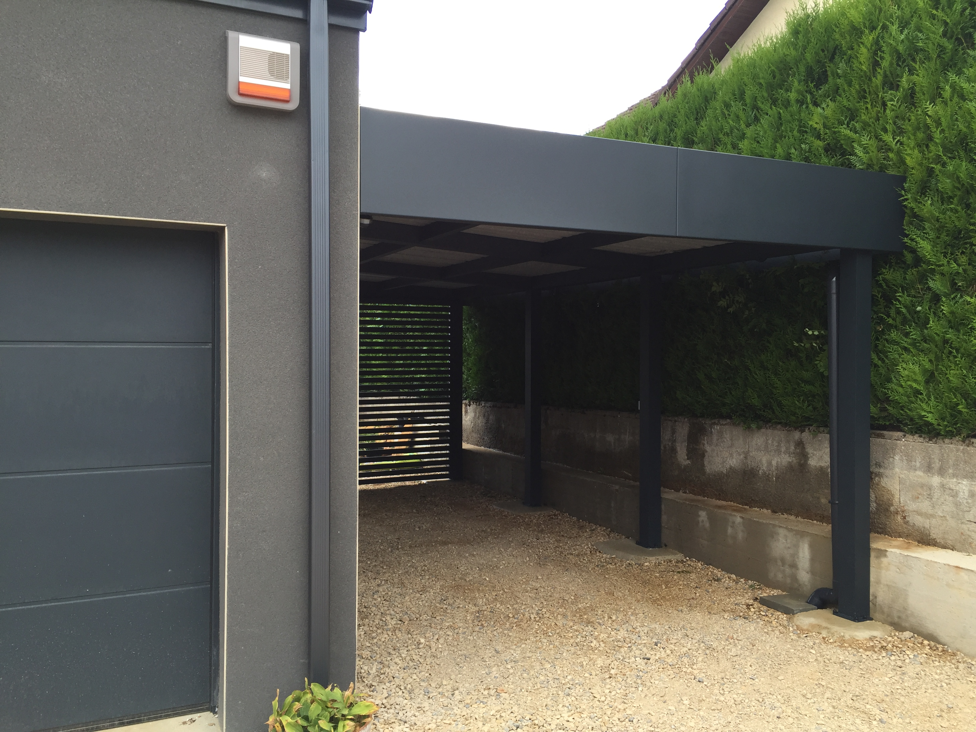 Le carport aluminium de la semaine carport for Carport one